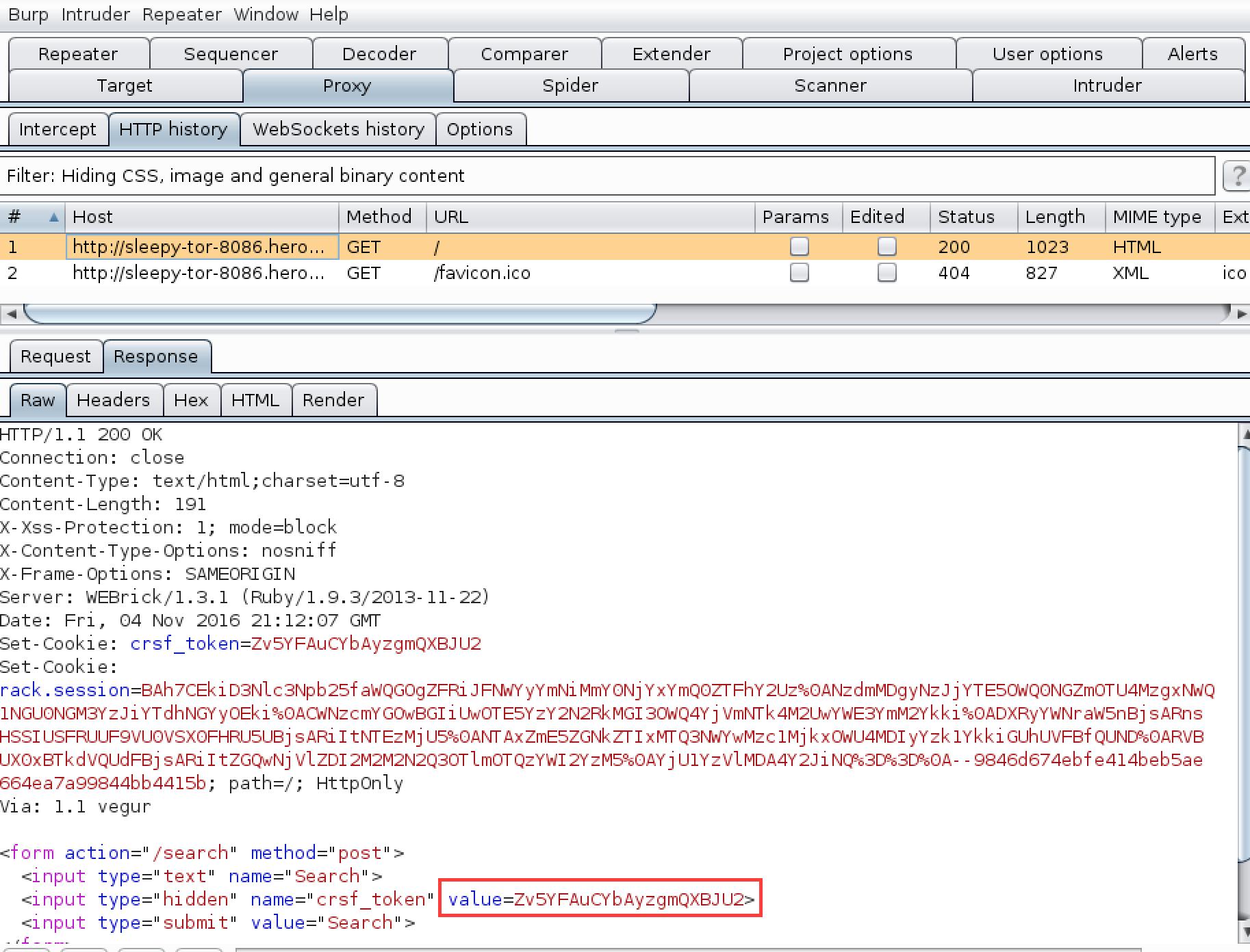CSRF Tokens using macros in Burp suite (II) – ++Security by Miguel A